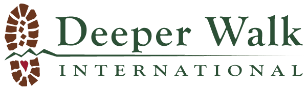 deeper walk international logo landscape